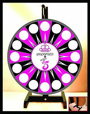 "Prize Wheel 18"" Spinning Tabletop Portable Paparazzi Everything $5 Wheel"