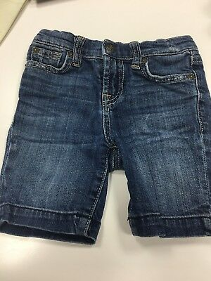 7 For All Mankind Toddler Jeans Shorts 4t