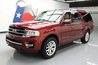 2015 Ford Expedition Limited Sport Utility 4-Door 2015 FORD EXPEDITION LTD EL 4X4 ECOBOOST NAV 20'S 36K #F17048 Texas Direct Auto
