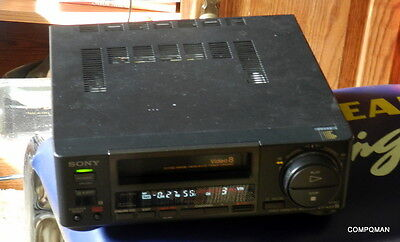 Sony EV-A50 Video8 8MM VCR Player Recorder NO REMOTE FULLY TESTED FREE SHIP