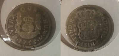 1755 Mexico Silver 1 Real