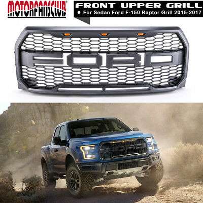 For 2015 2016 2017 Ford F150 Raptor Conversion Packaged FORD Letter Grille Grill