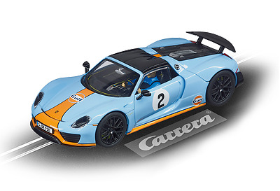 Carrera Evolution 1/32 Slot Car Porsche 918 Spyder Car27549