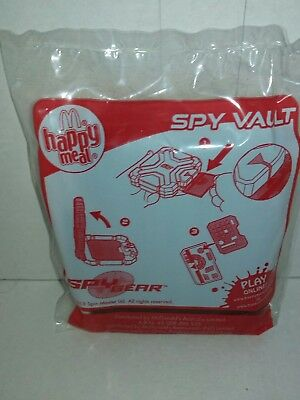 mcdonalds happy meal toy spy gear spy vault