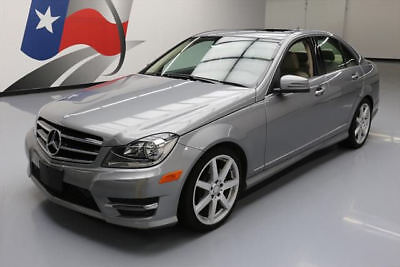2014 Mercedes-Benz C-Class  2014 MERCEDES-BENZ C250 SPORT TURBOCHARGED SUNROOF 24K #957497 Texas Direct Auto