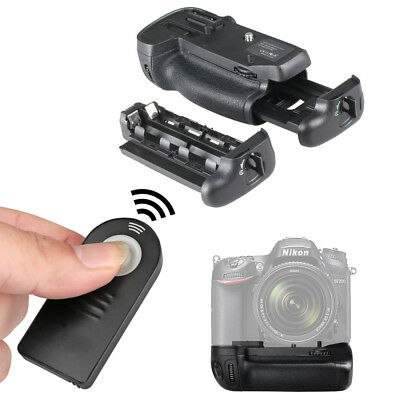 Battery Grip For Nikon D7100 D7200 MB-D15MBD15 DSLR Cameras+IR Remote Control