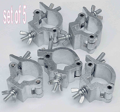 Clamp x 5  - CUP12 small coupler fits 25-32mm tubing / pipe Brand New