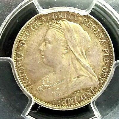 Great Britain 1893 Victoria PCGS PL64 Secure Silver 4D Prooflike Scarce