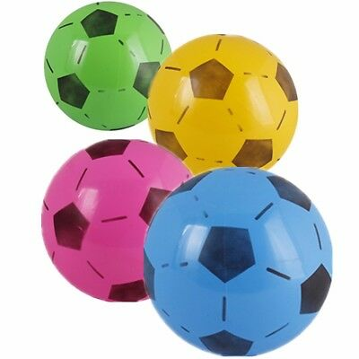 15cm PVC Inflatable Football Soccer Kids Toys Summer Party Beach Indoor Outdoor