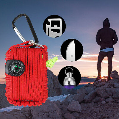 29 in1 Outdoor Survival Kit Erste Hilfe Werkzeuge Camping Rescue Emergency Kit