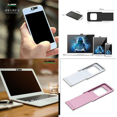 Aluminum alloy Webcam Camera Protector Cover Shield For Laptop Tablet Smartphone