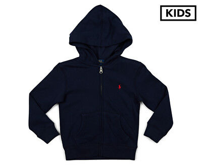 Polo Ralph Lauren Kids' Zip Thru Hoodie - Cruise Navy