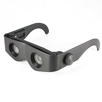 New Portable Glasses Style Telescope & Magnifier For Concert Fishing Binoculars