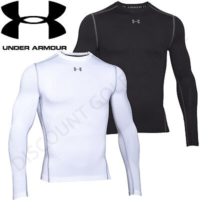 Under Armour Mens 2017 UA Golf ColdGear Compression Crew Thermal Base Layer