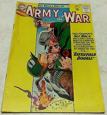 "Our Army at War 135, (FN- 5.5) 1963 Kubert, ""Battlefield Double!"" 40% off Guide!"
