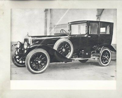 1921 1922 1923 Alfa Romeo Town Car 20-30 ES ORIGINAL Factory Photograph wy2441