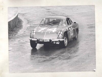 1967 Renault Alpine Race Car ORIGINAL Factory Photograph wy2448