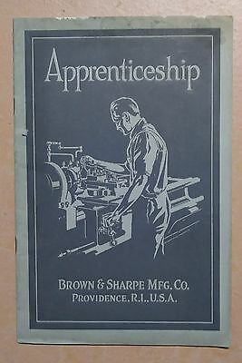 1919 Promo Book Brown & Sharpe Machinists Apprenticeship For Boys