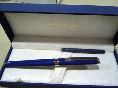 Levenger Waterman Hemisphere Blue Obsession Fountain Pen-Fine