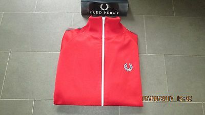 Vintage 1970s blue label Fred Perry track jacket. Casuals/Mod/Sport/Indie. Rare!
