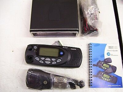 1- Tait Tm8250 Vhf 136-174Mhz Radio New Complete,head, Cables,mic,papers In Orig