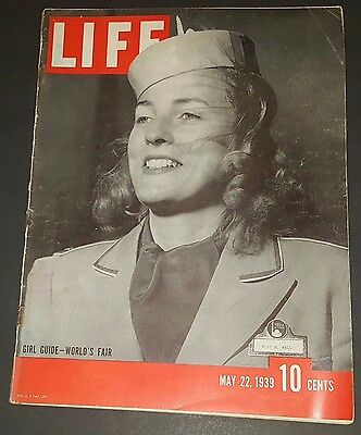 May 22, 1939 LIFE Magazine (Complete) old ads World Fair Guide FREE SHIPPING 5
