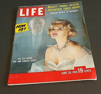June 29, 1959 LIFE Magazine Ad 50s advertising ads FREE SHIPPING
