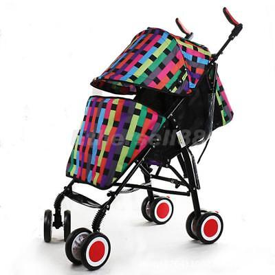 Universal Footmuff/Cosy Toes/Warmer Baby Stroller Pushchair Buggy Colorful Grid