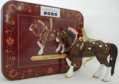 """King of Hearts ORNAMENT 2.5"""" Tall 2012 Trail of Painted Ponies Christmas Holiday"""