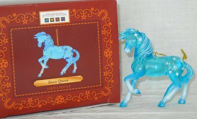 """Snow Queen ORNAMENT 2.5"""" Tall 2016 Trail of Painted Ponies Christmas Noel Frozen"""