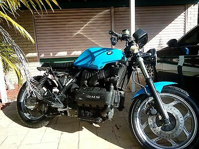 1986 BMW K100 cafe racer scrambler project