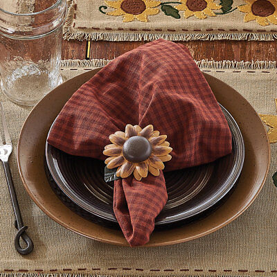 Sunflower Blooms Napkin - Set of 4