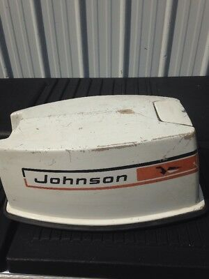 Johnson 20R73A 20Hp Top Engine Cover Hood Cowling 0385434 Outboard Motor