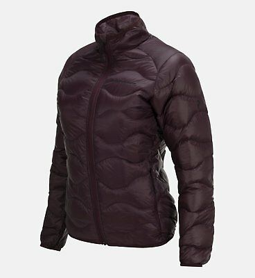 Peak Performance Helium Jacket with Duck Down in Mahogany