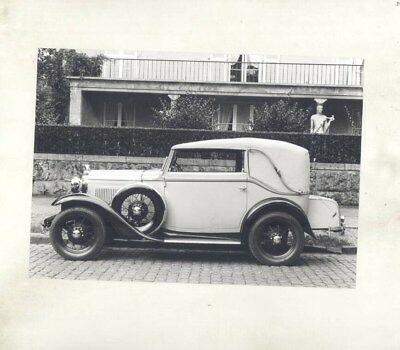 1928 Ford Germany Model A Cabriolet ORIGINAL Factory Photograph wy3840