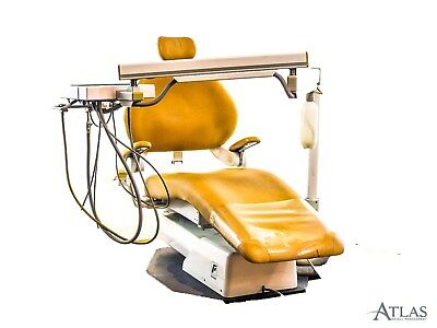 Forest Dental Patient Exam Chair w/ Ultima 2 Delivery & Light-Brown Upholstery