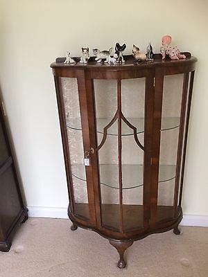 Victorian Antique China Cabinet