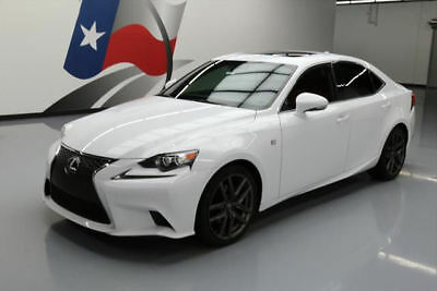 2014 Lexus IS  2014 LEXUS IS250 F-SPORT SUNROOF HTD SEATS REAR CAM 18K #036807 Texas Direct