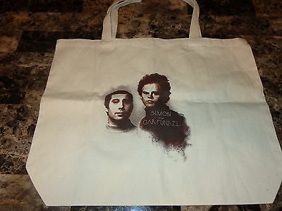 Simon and Garfunkel Rare Official Record Tote Bag Beach Paul Art Vintage Photo