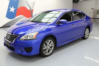 2014 Nissan Sentra  2014 NISSAN SENTRA SR SEDAN AUTO BLUETOOTH ALLOYS 37K #306883 Texas Direct Auto
