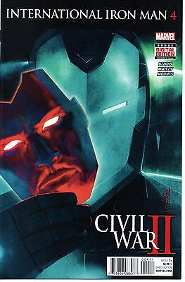 International Iron Man #4 - Civil War II Brian Michael Bendis NM - 1st Printing