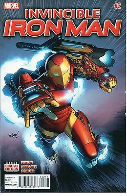 Invincible Iron Man #2 - Brian Michael Bendis - NM - 1st Printing