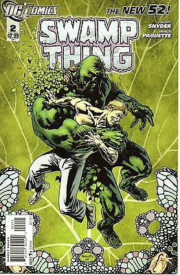 The New 52 - Swamp Thing - #2 - DC - Scott Snyder - NM - 1st Printing