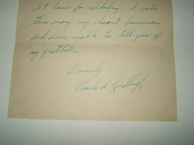 CHARLES A. LINDBERGH Signed/autograph Letter to William R. Hearst 1927