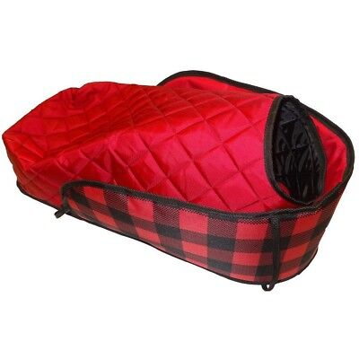 Plaid XL Sleigh Pad With Bootie