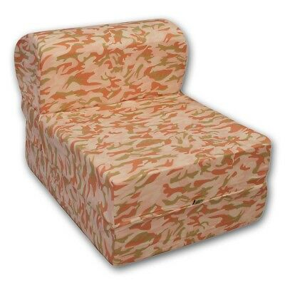 Comfy Kids Flip Chair - Pink Camo