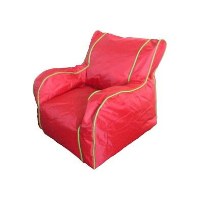 Boscoman - Cody Large Lounger Chair Bean Bag - Fiery Red