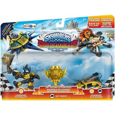 Skylanders Superchargers - Exclusive Legendary Series - Sky Racing Action Pack