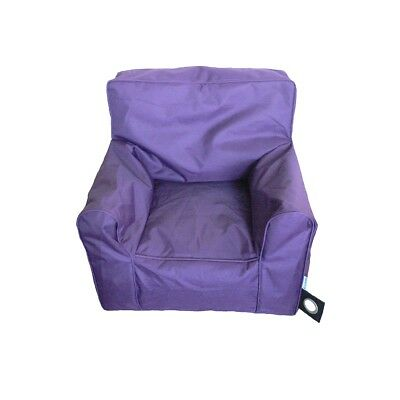 Boscoman - Cozy Youth Lounger Chair Bean Bag - Purple