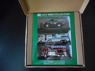 2017 Hess Truck Mini Collection Nib Sold Out On Line